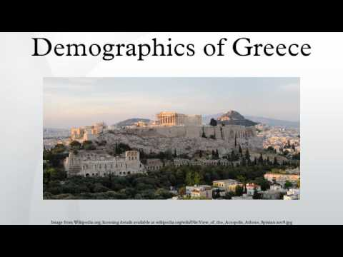 Demographics of Greece