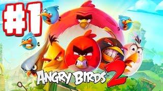 Angry Birds 2 - Gameplay Walkthrough Part 1 - Levels 1-10 - CRAZY BOSS BATTLES 3 STARS!