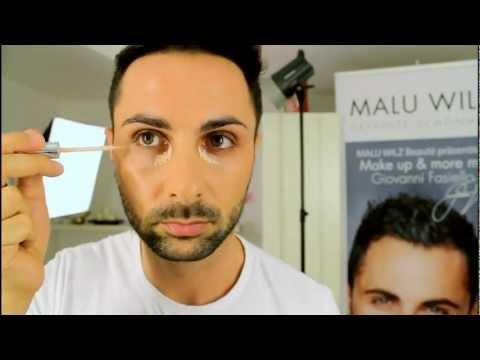 Hautpflege und Make up für Männer