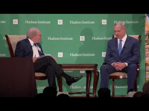Benjamin Netanyahu Receives Hudson's Herman Kahn Award
