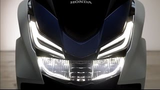 The New 2015 Honda Forza 125 - Model Features