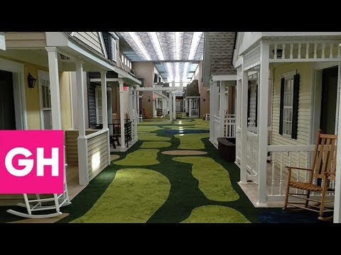 This Assisted Living Facility Looks Like A Small Town From The 1930s | GH