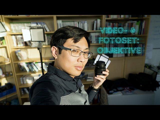 Video- & Fotoset: Objektive