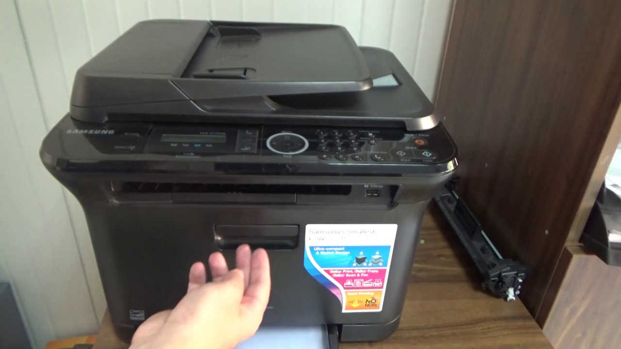 Drivers Update: Samsung CLX-3185FN Add Printer