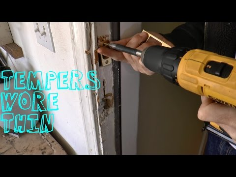 How To Fix A Kicked In Door / Forced Entry Situation
