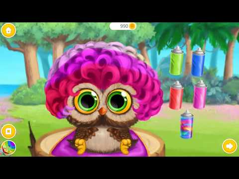 Baby Animal Hair Salon 3 - Jungle Animals Style Makeover Games For Girls - Fun Baby Animals Care