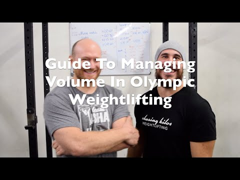 GUIDE TO MANAGING VOLUME IN OLYMPIC WEIGHTLIFTING WITH YASHA KAHN