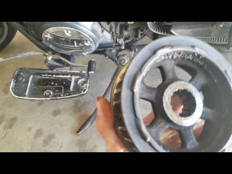 How To Change Rear Spring On A Yamaha Raider