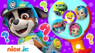 Gumball Machine #3 w/ PAW Patrol, Baby Shark & Shimmer and Shine! | Nick Jr.