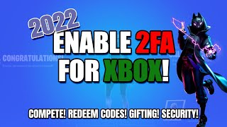 How to Enable Two Factor Authentication (2FA) on Xbox | Working in 2020 | Fortnite
