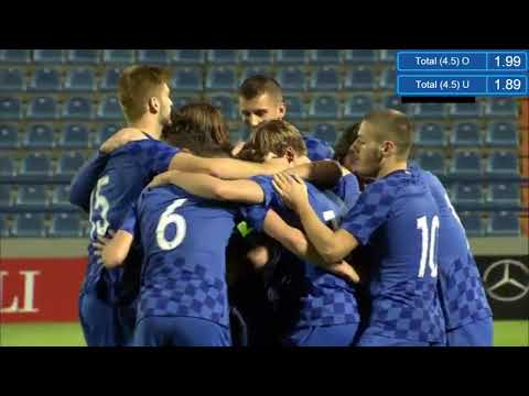 Croatia U21 vs Czech Republic U21 5-1 | Highlights & Goal - EURO U21-09.10.2017