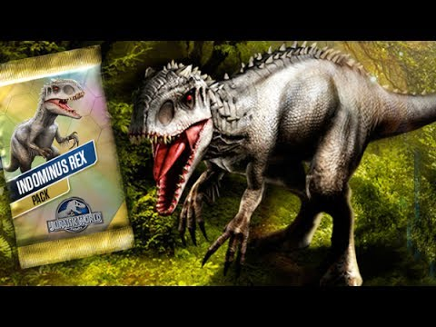 WOW! INDOMINUS REX - TOURNAMENT || Jurassic World The Game