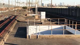 E257系500番台千マリNB-09編成AT入場配給列車南船橋通過