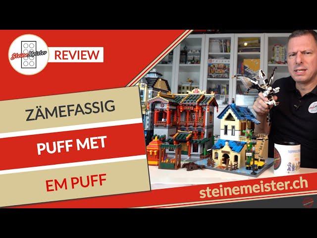Schwiizerdütsch: Puff met em Puff, Zämefassig vo LEGO® 71718, XINGBAO 01003 & WANGE 5311, 6310