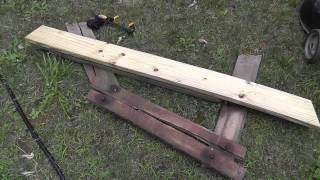 Repairing A Wood Picnic Table