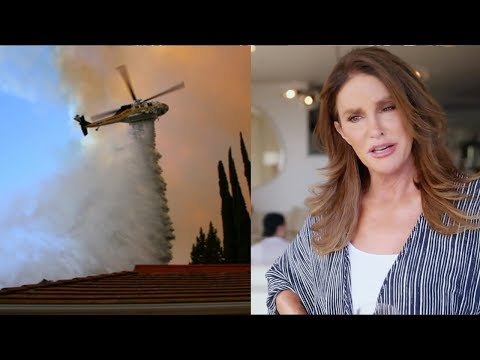 Kim Kardashian FORCED To Evacuate & Caitlyn Jenner's House BURNS DOWN! Mp3