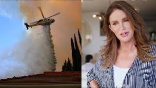 Kim Kardashian FORCED To Evacuate & Caitlyn Jenner's House BURNS DOWN!