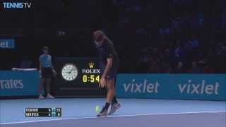 2015 Barclays ATP World Tour Finals: Roger Federer Hot Shots