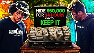 AMP HIDE $50,000 FOR 24 HOURS AND YOU KEEP IT YouTube Videos