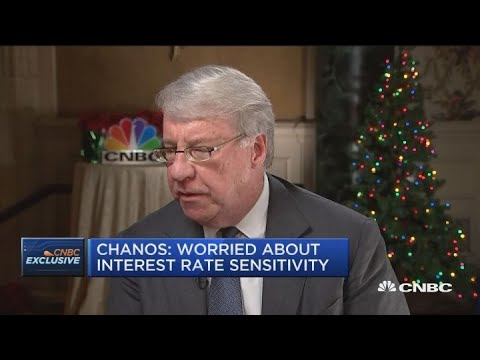 Chanos: Worried about interest rate sensitivity