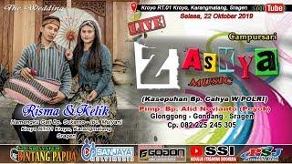 Live Wedding Risma & Kelik //Cs. ZASKYA //BINTANG PAPUA SOUND//Kroyo RT.01 Karangmalang - 22/10/2019