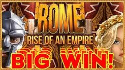 💰 BIG WIN! ROME RISE OF AN EMPIRE & Pillars of Hercules BOOKIES SLOT! 💰