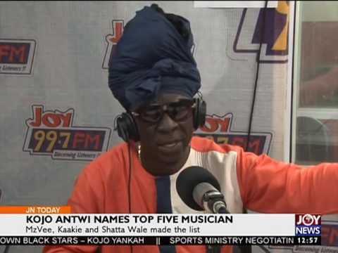 Kojo Antwi names top five musicians (11-10-16)