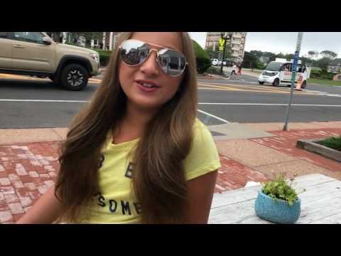 Isabella Barrett in the HAMPTONS with Donald Trump (Must See!)