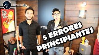 5 Errores de Principiantes en Guitarra  - Vlog 2 - Aprender Guitarra Facil Christianvib & Niño Rock