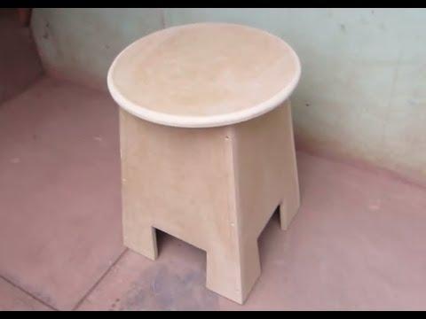 Como hacer una banca de mdf facil youtube - Como hacer un altillo de madera ...