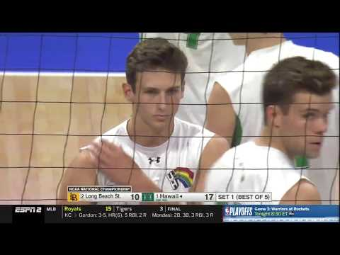 2019 NCAA Men's Volleyball Championship - Hawaii Vs LBSU