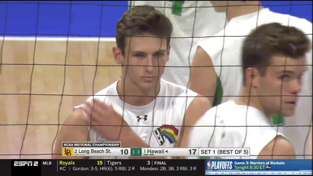 2019 NCAA Men's Volleyball Championship - Hawaii Vs LBSU