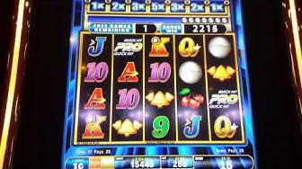 Quick Hit PRO, Slot machine free spins.