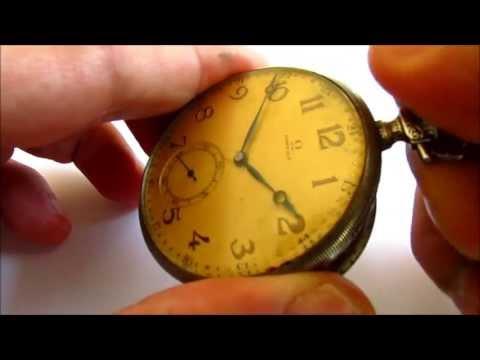 Omega  vintage pocket watch 15 jewels