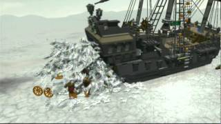 Lego Pirates of the Caribbean Walkthrough - Part 12 - Davy Jones Locker (Story Mode)