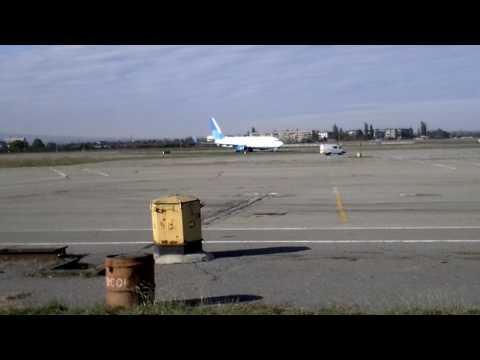 Аэропорт Нальчик, первый рейс Pobeda DP511 (Санкт-Петербург - Нальчик)
