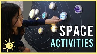 PLAY | 3 Space Activities!!