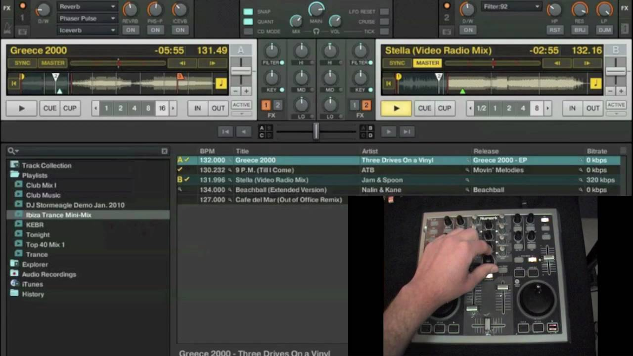 DJ Stormeagle's Numark Total Control and Traktor Pro Mapping