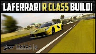 Forza Motorsport 6 - Ferrari LaFerrari R-Class Performance Build! (W/Tune)