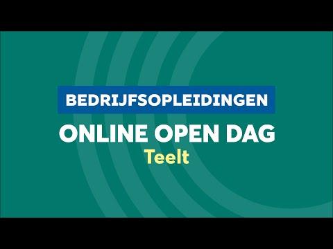 BO Teelt Online Open Dag