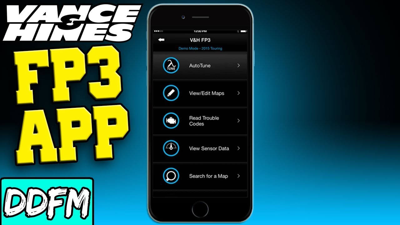 How to Use the Vance and Hines FuelPak FP3 App in 5 Minutes