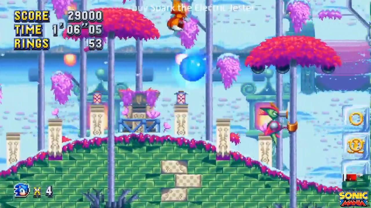 Algumas fases verdadeiras do Sonic Mania foram liberadas | Sonic
