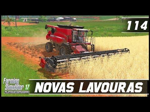 COMPRANDO NOVAS LAVOURAS PARA EXPANDIR! | FARMING SIMULATOR 17 PLATINUM EDITION #114 | PT-BR |
