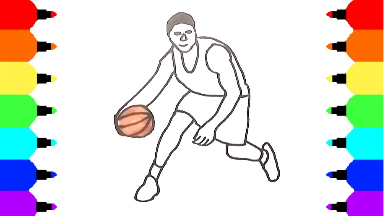 How To Draw Basketball Player