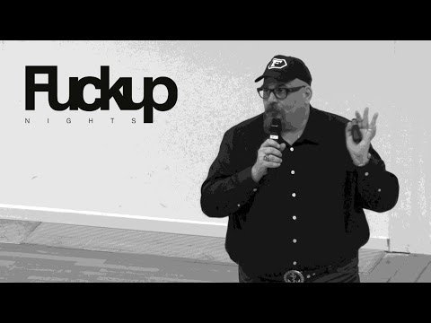 FuckUp Nights Frankfurt - Christian Paul Stobbe