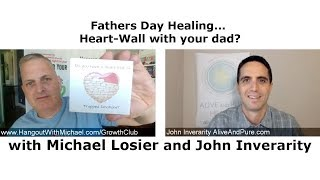 Episode #101 Fathers Day Healing... Heart-Wall with your dad? Emotion Code can help