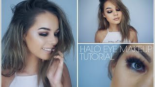 Halo Eye Makeup Tutorial   Night Out Glam (with bloopers)