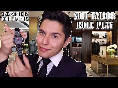 [ASMR] Suit Tailor Role Play!