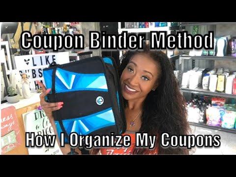 Coupon Organization. How I Organize my Coupon Binder to maximize my coupon deals!