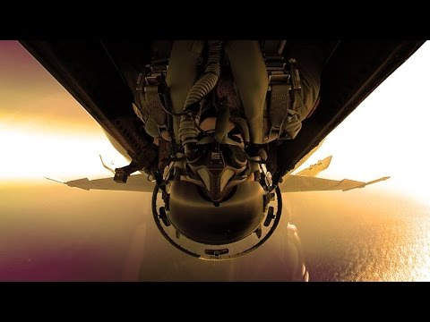 2014 F-18 Navy Hornet Ball Video
